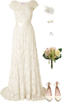pretty #wedding #dress #sleeves #bridal #gown #modest #artistic