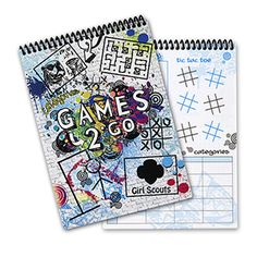 GAMES 2 GO ACTIVITY BOOK- $15.00.