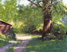 Love this plein air painting by Marc Hanson; this is one of my favorite paintings!!!!!!