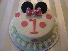 Smash cake- mickey