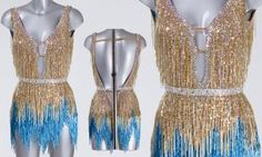 Claudia's Samba dress - Strictly Come Dancing 2016
