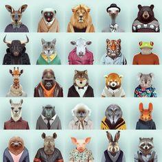 Zoo Portraits von Yago Portal – GenialeWelt.com