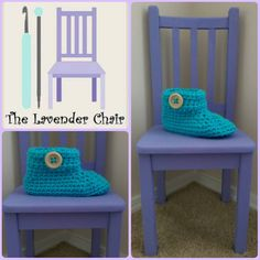 Chunky Buttoned Slipper Crochet Pattern (Womens US shoe size - free crochet pattern from The Lavender Chair. Lion Brand, Crochet Cable, Free Crochet, Crochet Buttons, Crochet Hooks, Crochet Crafts, Crochet Projects, The Lavender Chair, Super Bulky Yarn