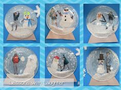 Lessons with Laughter: Snow Globes!