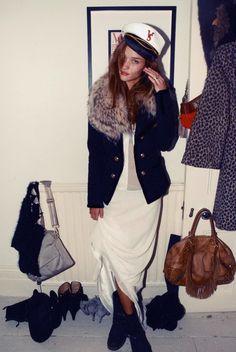 Rosie Huntington-Whiteley style