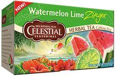 Watermelon Lime Zinger Herbal Tea | Celestial Seasonings