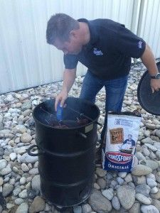 Get Steven Raichlen's take on the Pit Barrel Cooker, which looks like a black metal trash can but works as a smoker and grill, easy to use and versatile. Barrel Smoker, Steven Raichlen, Pit Barrel Cooker, Kitchen Plants, Smoker Recipes, Modern Family, Things To Know, Bbq Diy, Grilling
