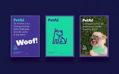 Poster for Petful brand identity by Stundra on Behance