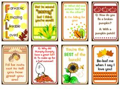 Lunch Box Notes for Fall