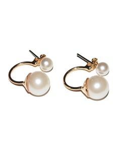 Two Pearls Earrings