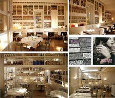 Descolado e jovem, o restaurante Bazaar em Madri tem uma decoração super fofa e é um dos favoritos da Sister Fer Cassou.