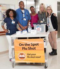 Vea cómo Memorial Sloan Kettering Cancer Center alienta a su personal a combatir la #gripe. ¿En su trabajo combaten la #gripe creativamente? Publique su historia en el sitio web de los CDC. Vea las instrucciones abajo: http://go.usa.gov/5RYT