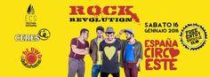 Rock Revolution 2016 - España Circo Este