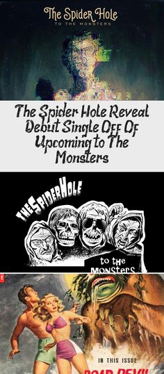 Phoenix, AZ based, Dark Alternative Rock Band THE SPIDER HOLE has announced the launch of a Kickstarter Campaign to help support their upcoming LP and associated graphic novel, To The Monsters. The unique project… Oingo Boingo, Album Stream, Alternative Rock Bands, Great Fear, Frank Zappa, Original Song, Halloween Night, New Music, Lp