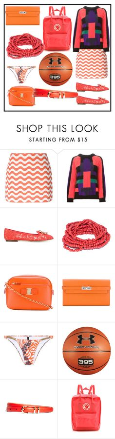 """fashion for your choice"" by denisee-denisee ❤ liked on Polyvore featuring Au Jour Le Jour, Balmain, Dolce&Gabbana, Salvatore Ferragamo, Hermès, ViX, Under Armour, Brooks Brothers, Fjällräven and vintage"