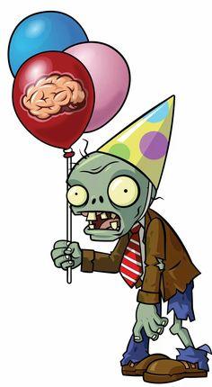 MIGUEL7 PLANTASVSZOMBIES Zombie Birthday Parties, Leo Birthday, Zombie Party, Birthday Party Decorations, Zombies Vs, Zombie Apocalypse Party, P Vs Z, Christmas Elf Costume, Jar Art