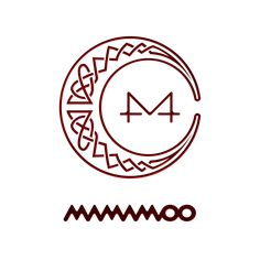 ► Png by TsukinoFleur ◄ Mamamoo, Got 7 Logo, Kpop Tattoos, Overlays, Kpop Logos, Pop Stickers, Moon Logo, Kpop Drawings, Red Moon