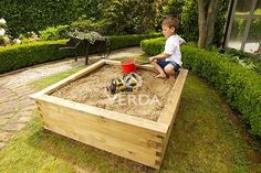 Verda gardens are also perfect as a sandpit for the kids.