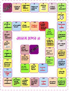 Muchos juegos de castellano