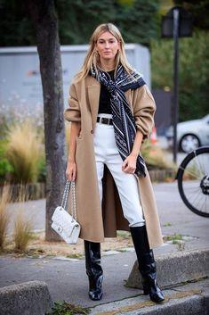 Look Street Style, Autumn Street Style, Street Style Women, Street Style Dresses, Cool Street Fashion, Paris Fashion, Italian Street Fashion, La Fashion Week, Woman Fashion