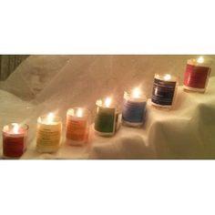 Chakra Meditation Candles (7 candles)
