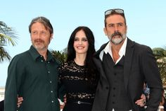 Mads Mikkelsen, Eva Green and Jeffrey Dean Morgan - Photocall for The Salvation #CannesFilmFestival2014