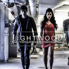 #Shadowhunters - #AlecLightwood #IzzyLightwood