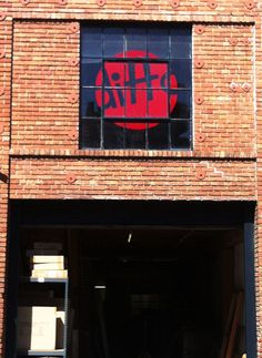 Our new Ditto Sign above our protoype shop/warehouse.