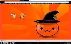 25 Spooky and Fun Halloween Browser Themes for 2014 - Brand Thunder Halloween Themes, Halloween Pumpkins, Happy Halloween, Facebook Layout, Iphone Wallpaper, Scary, Old Things, Chrome