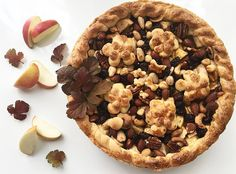 Apple pie with nuts 🌰🍎