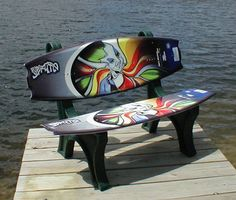 Hyper Wakeman Wake Board Bench