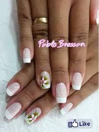 Resultado de imagen para uñas delicadas Nails, Beauty, French, Fashion, Nail Designs, French Tips, Fingernail Designs, Self Care, Florals