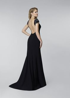 Oleg Cassini Evening Dress