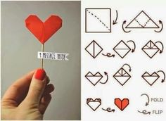 How to Chic: HEART MESSAGE DIY