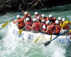 Great Outdoor Activity for the whole team: River Rafting