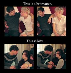 They look at each other with so much love that there is no way in hell it is just a bromance