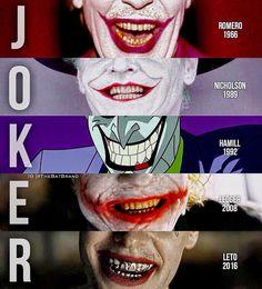 Joker's maniacal psycho smile Joker Batman, Joker Art, The Joker, Gotham Batman, Batman Art, Batman Robin, Heros Comics, Dc Heroes, Marvel Dc Comics