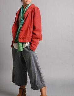 i think i like to dress like a hipster communist girl sometimes.