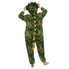 Plush Green Toothless Triceratops Unique Adult Onesie – alfagoody Adult Pajamas, Animal Pajamas, Onesie Pajamas, Kids Pajamas, Cute Onesies, Animal Costumes, Christmas Costumes, Toothless