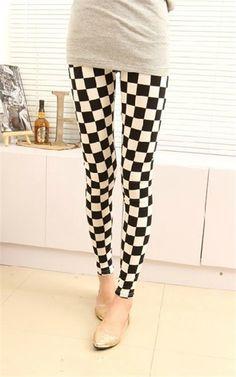 80f7f950926f84 shepherd check Tartan leggings, fashion women low waist-ed plaid tights for  you #