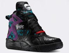 #Reebok Blacktop Battleground #Black #sneakers
