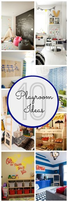 10 Awesome Playroom Ideas - Classy Clutter 10 Awesome Playroom Ideas – Classy Clutter This. Playroom Design, Playroom Decor, Playroom Ideas, Deco Kids, Playroom Organization, Toy Rooms, Kid Spaces, Game Room, Kids Playing