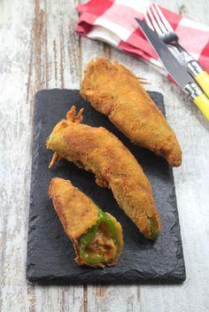 Pimientos rellenos de pollo, queso y maíz…todo ello mezclado con nuestra riquísima #salsa Texas Ybarra.