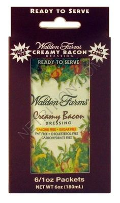 Walden Farms Salad Dressings are low carb, sugar free, fat free, calorie free, and sweetened with Sucralose. Sugar Free Salad Dressing, Vinegar Salad Dressing, Bacon Dressing, Carbs In Bacon, Pb2 Powdered Peanut Butter, Yeast Infection Home Remedy, Fish Marinade, Bacon Salad, Egg Salad