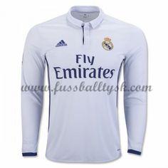 La Liga Fussball Trikots Real Madrid 2016-17 Heimtrikot Langarm