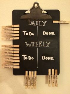 10 DIY Chalkboard Ideas For Decor