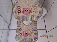 Resultado de imagem para tapetes banheiro patchwork