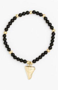 DIY Inspiration:     Cara Bead Stretch Bracelet | Nordstrom