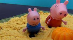 Peppa Pig en français. Peppa, Papa Pig et George construisent des épouva...
