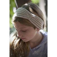 Headband with a Twist Knitting pattern by Margaret Holzmann | Knitting Patterns | LoveKnitting